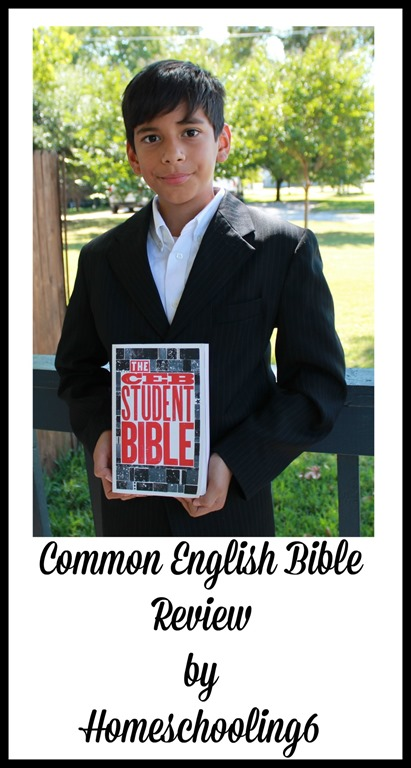 Common English Bible Review by Homeschooling6