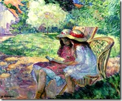 Lebasque, Henri  (1865-1937) Deux petites filles
