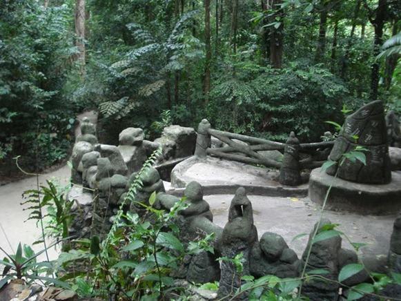 gruta de pedra para jardim : gruta de pedra para jardim:Gruta de Pedra-Sabão, Bosque Rodrigues Alves – Belém do Parà, fonte
