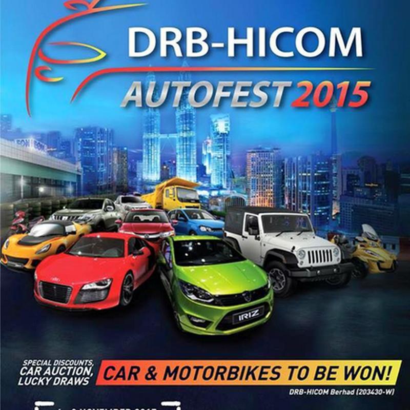 DRB-HICOM AUTOFEST 2015