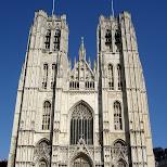 sintt-michiels-en-goedelekathedraal in Brussels, Brussels, Belgium