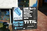 Aantallen schildpaddennesten in 2008.