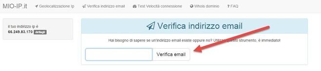 verifica-indirizzo-email-mio-ip
