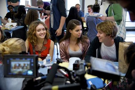 Olivia Cooke, Katherine Hughes, Thomas Mann - ME AND EARL AND THE DYING GIRL