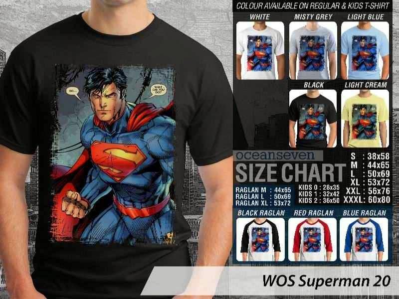 KAOS superman 20 Movie Series distro ocean seven