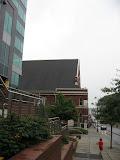 Bryan walking toward the Ryman Auditorium in Nashville TN 09042011