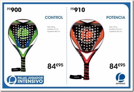 Colección Palas Pádel ARTENGO 2015-16 MODELOS 4