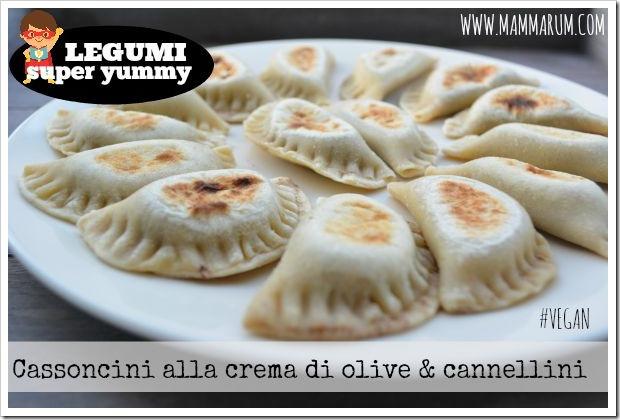 Cassoncini alla crema di olive E cannellini0927