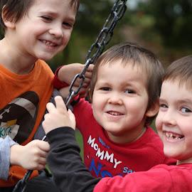 Swingin by Michelle Brush - Babies & Children Children Candids
