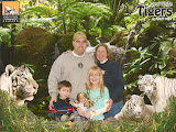 The Frey Family with the White Tigers at Navy Pier in Chicago - 01152012