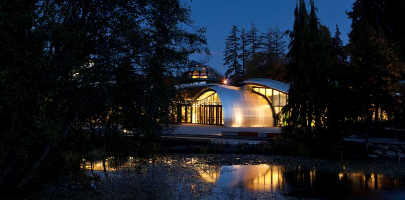 VanDusen Botanical Garden Visitor Centre by Perkins Will