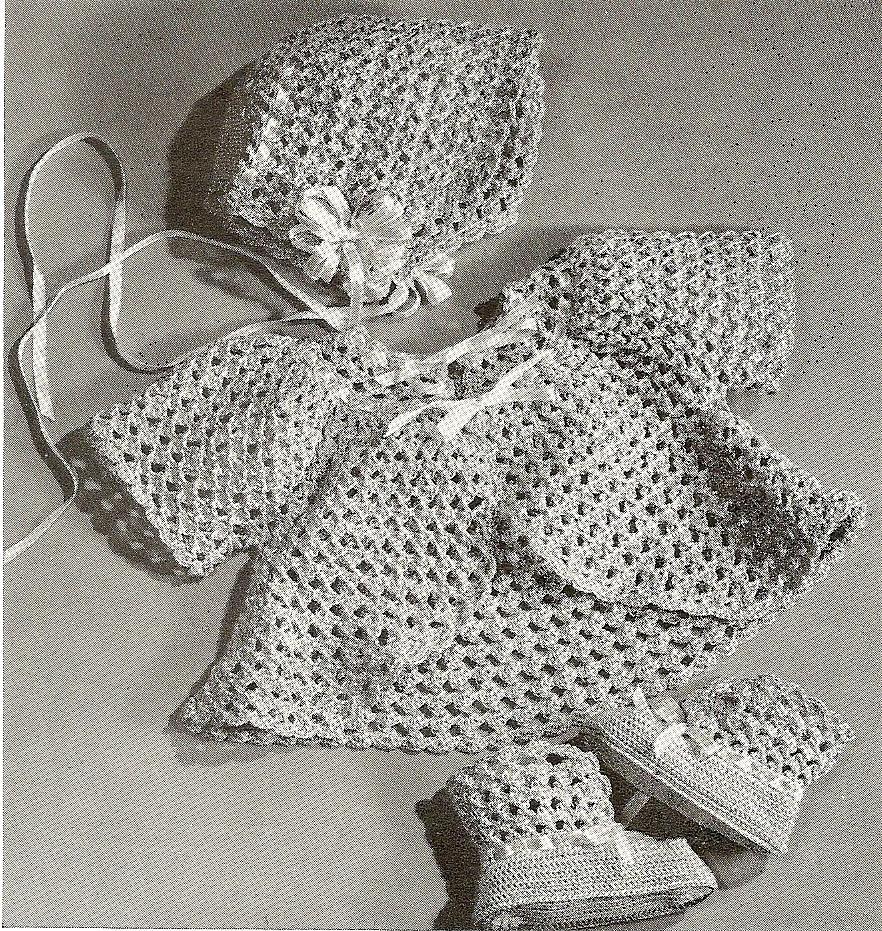 VINTAGE Crochet PATTERN PDF