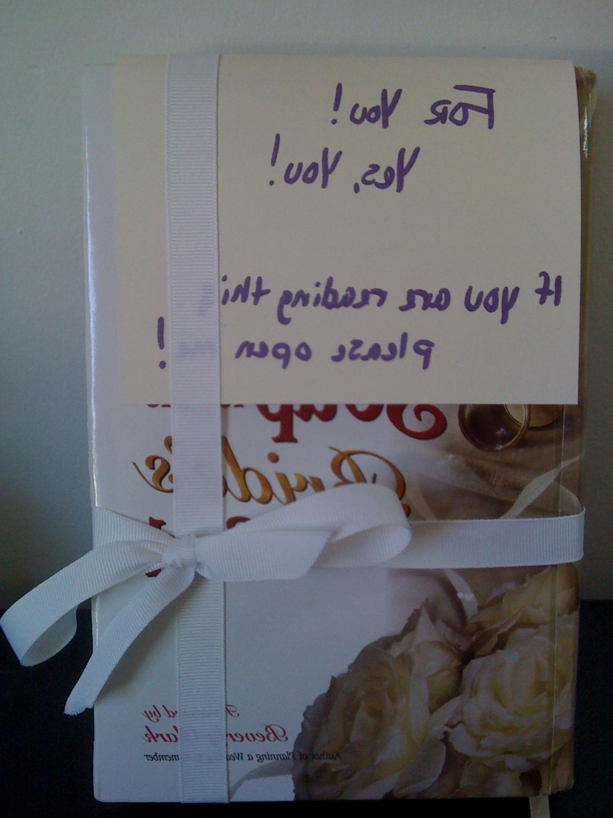 a box of invitations,