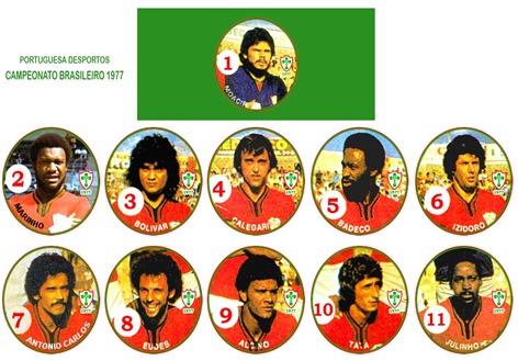 135 - Portuguesa 1977 - Campeonato Brasileiro