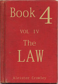 Cover of Aleister Crowley's Book Book 4 Part IV The Law