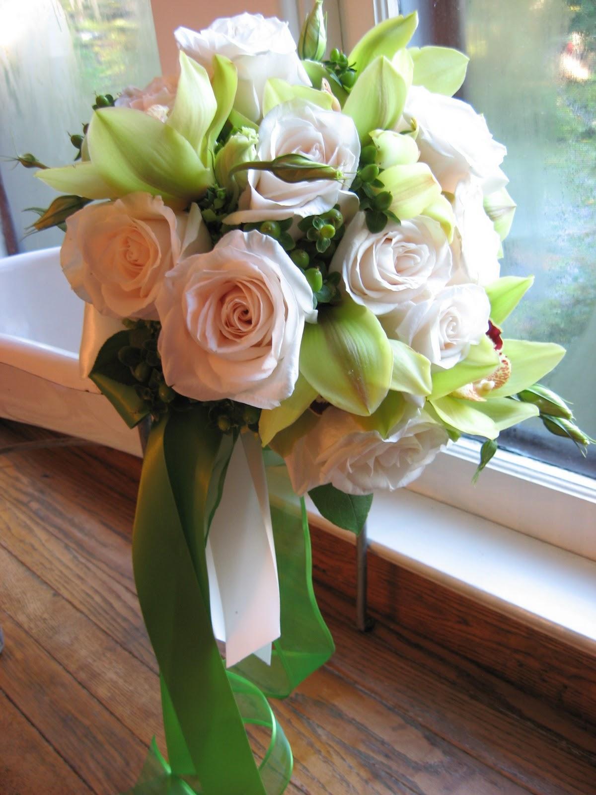 Classic Green & Ivory Wedding