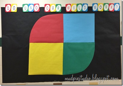 UNO classic board game bulletin board