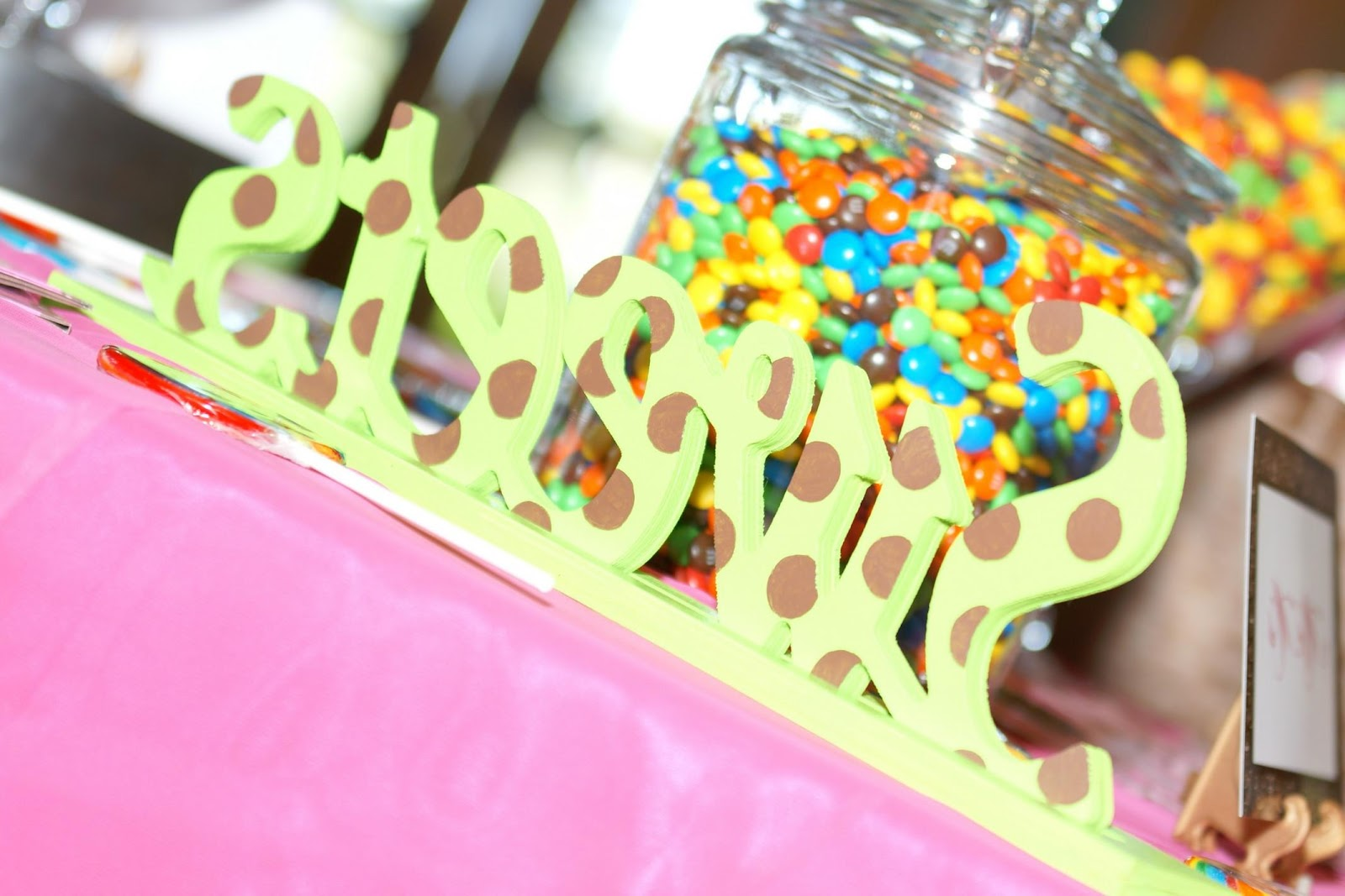 Your Wedding Candy Buffet