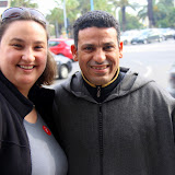Natalie and Our Fantastic Guide, Hamid - Casablanca, Morocco