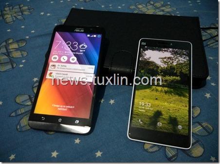 Benchmark Asus Zenfone 2 ZE551ML vs Xiaomi Mi 4i