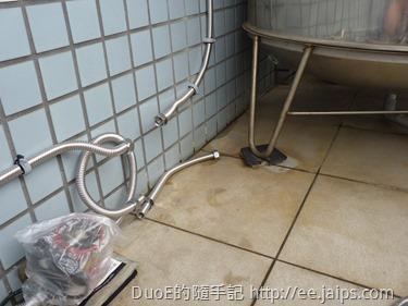 水塔管線預留切換裝置安裝口
