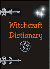 Cover of Anonymous's Book Witchcraft Dictionary