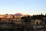Herculaneum, Present Day Naples, and Vesvius - Naples, Italy