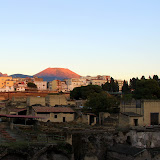 Herculaneum, Present Day Naples, and Vesvius - Naples, Italy
