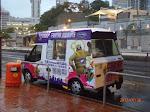 A Yahoo! ice cream truck