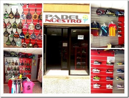 Padel Nuestro sigue su expansión y abre una nueva tienda de pádel en Caspe.