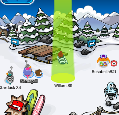 how to get the green hard hat club penguin