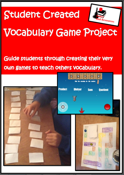 How much student choice do students have in your classroom? This blog post will explain how to give students choices while still exposing them to new topics. Opinions by Heidi Raki of Raki's Rad Resources. - create your own vocabulary game project