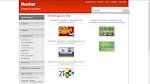 Screenshot of interactive exercises interface: hueber.de