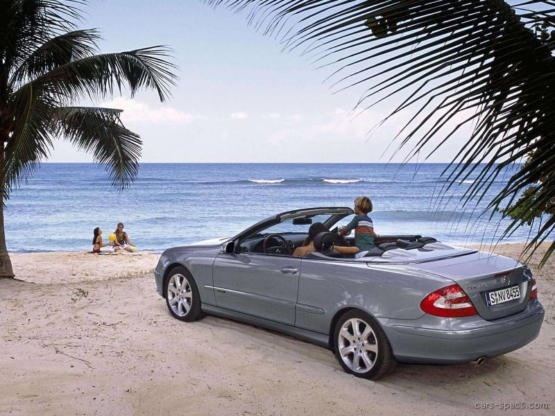 2007 mercedes benz clk class convertible specifications for Mercedes benz clk convertible