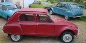Citroen 1967 Dyane rouge