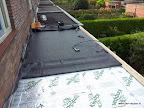 'plakken' van het dak (EPDM)