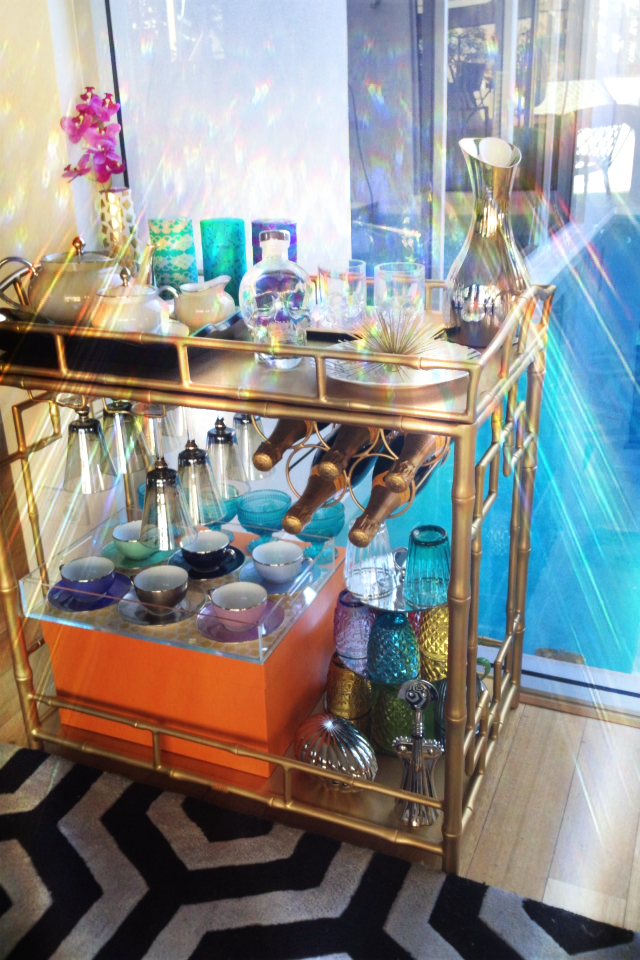 Transforming Tuesdays: Bar Cart to Tea Cart