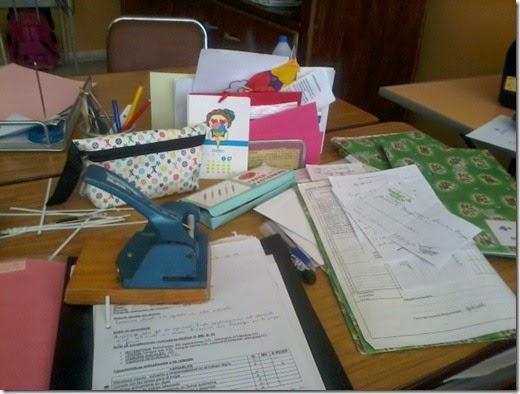 mesa trabajo