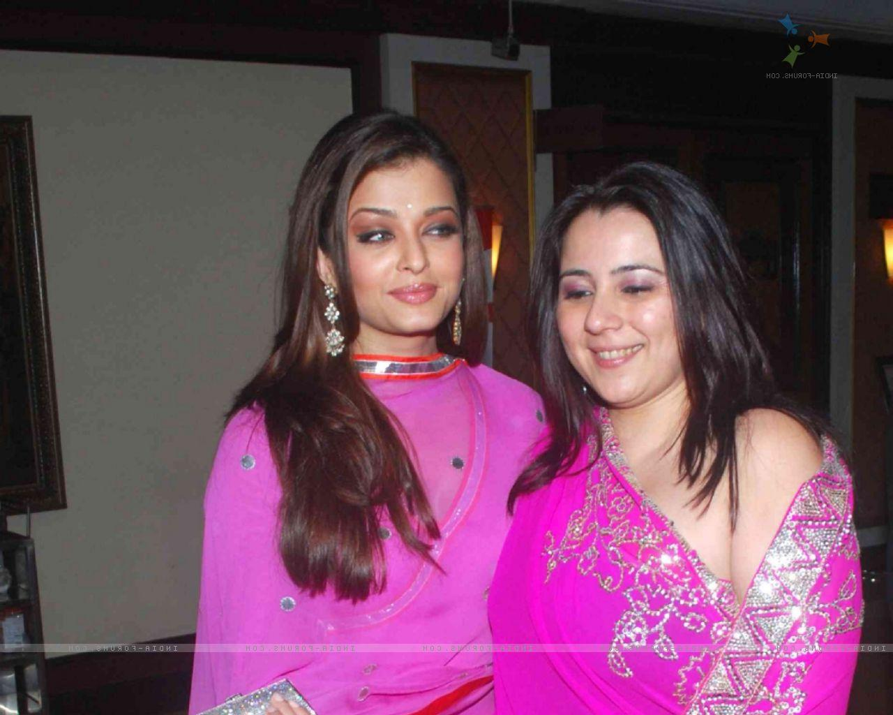 Aishwarya Rai and Shrishti