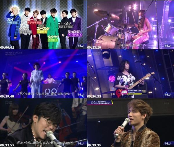[TV-Variety] Music Japan – 2016.02.29