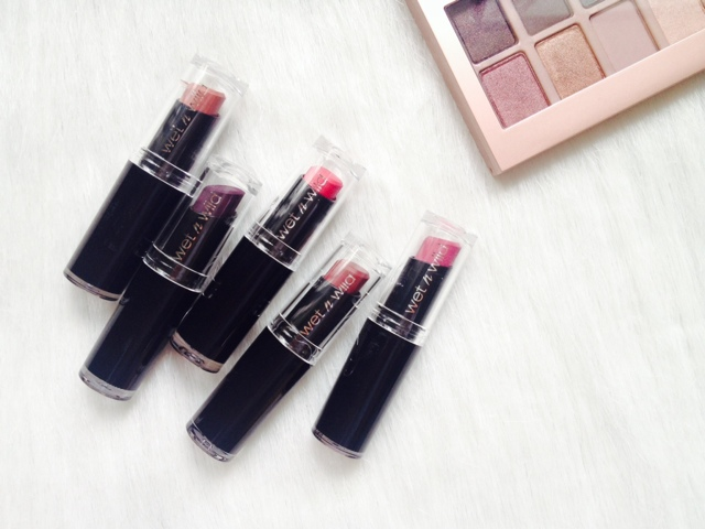 Wet & Wild Megalast Lipsticks