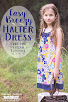 Easy Halter Dress Pattern