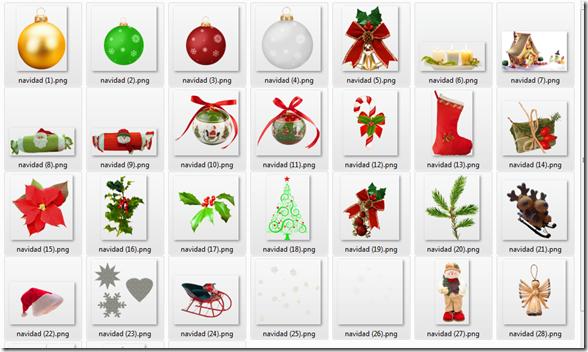 Imágenes grandes de navidad png