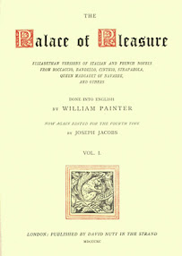 Cover of William Painter's Book The Palace Of Pleasure
