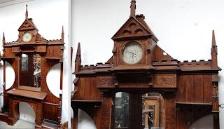 Шкаф для прихожей. Неоготика ок.1890 г. 180/45/300 см. 4800 евро.
