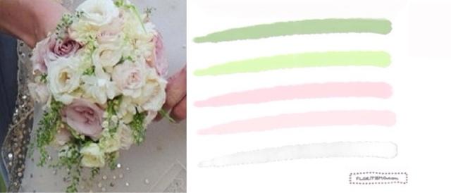 Kate Moss wedding bouquet