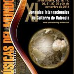 XI Jornadas Internacionales de Guitarra de Valencia. 2013. Músicas del Mundo. Octubre - Noviembre de 2013. Valencia • Quart de Poblet • Valencia