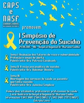 Simpósio de Prevenção do Suicídio