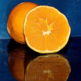 Orange by Renata Ivanovic - Food & Drink Fruits & Vegetables ( orange, desert, food, fruits, close up )
