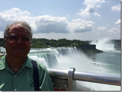 The Ancestry Insider at Niagra Falls